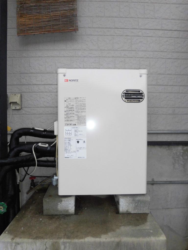 石油給湯器 ノーリツOTQ-4705SAY交換 / 宮城・仙台・山形の給湯器の交換[シマツ]