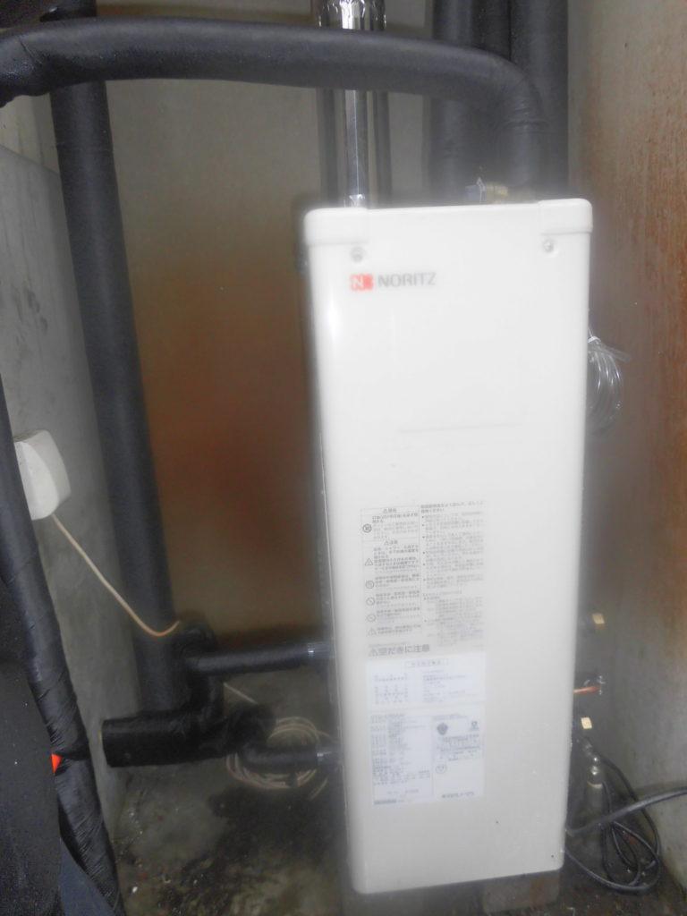 石油給湯器 ノーリツ OTQ-4705SAF交換の写真 / 宮城・仙台・山形の給湯器交換[シマツ]