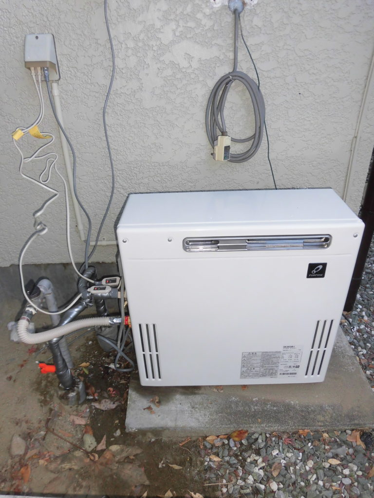 ガス給湯器 パーパス GN-2003AR-1交換の写真 / 宮城・仙台・山形の給湯器の交換[シマツ]