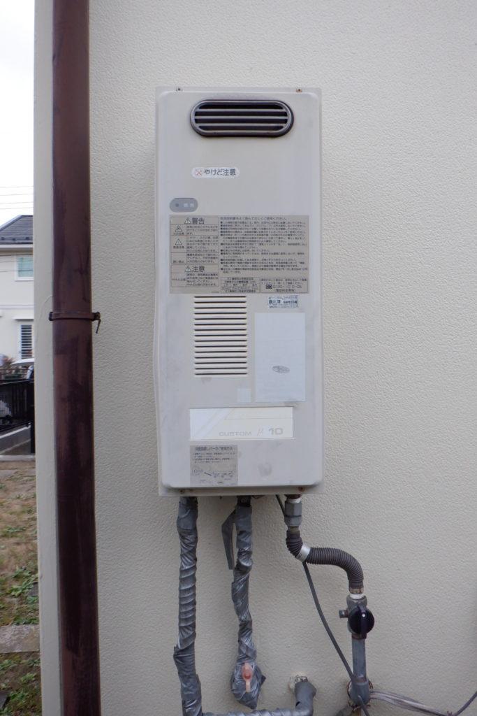 ガス給湯器 ノーリツGQ-1639WS交換の施工前画像 / 宮城・仙台・山形の給湯器の交換[シマツ]
