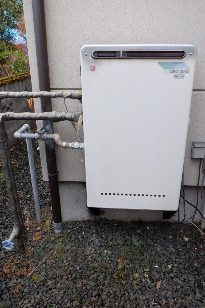 ガス給湯器 パーパスGN-2003AR-1交換の施工前画像 / 宮城・仙台・山形の給湯器交換[シマツ]