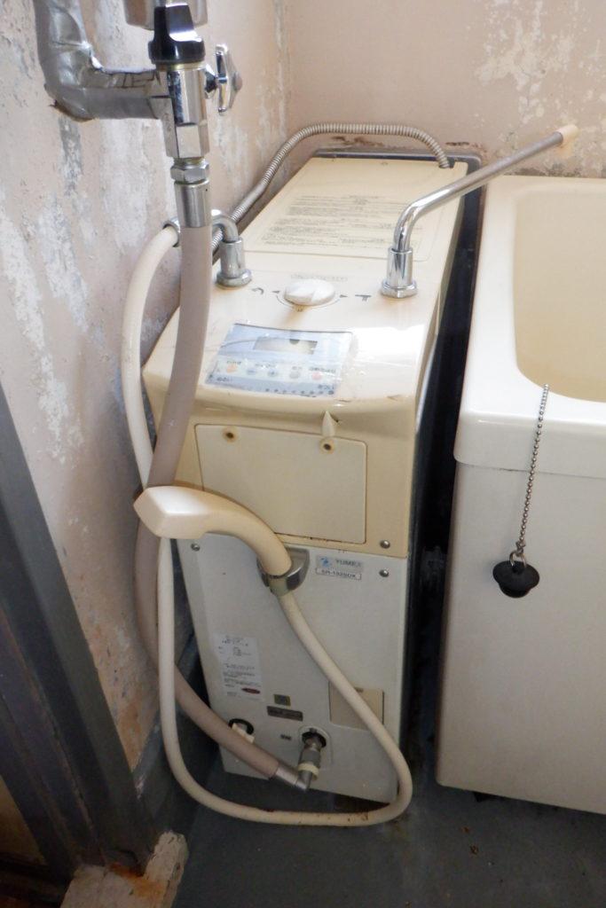 バランス釜 リンナイRBF-ASBK交換の施工前画像 / 宮城・仙台・山形の給湯器の交換[シマツ]