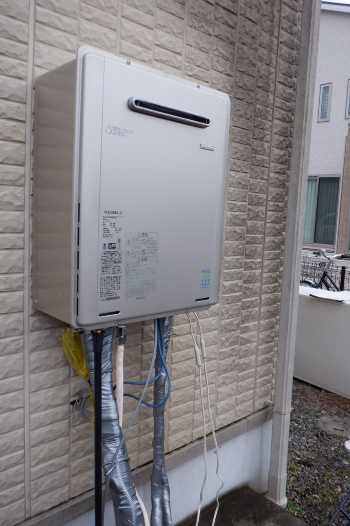 ガス給湯器 リンナイRUF-E2405SAW-TN交換 / 宮城・仙台・山形の給湯器の交換[シマツ]