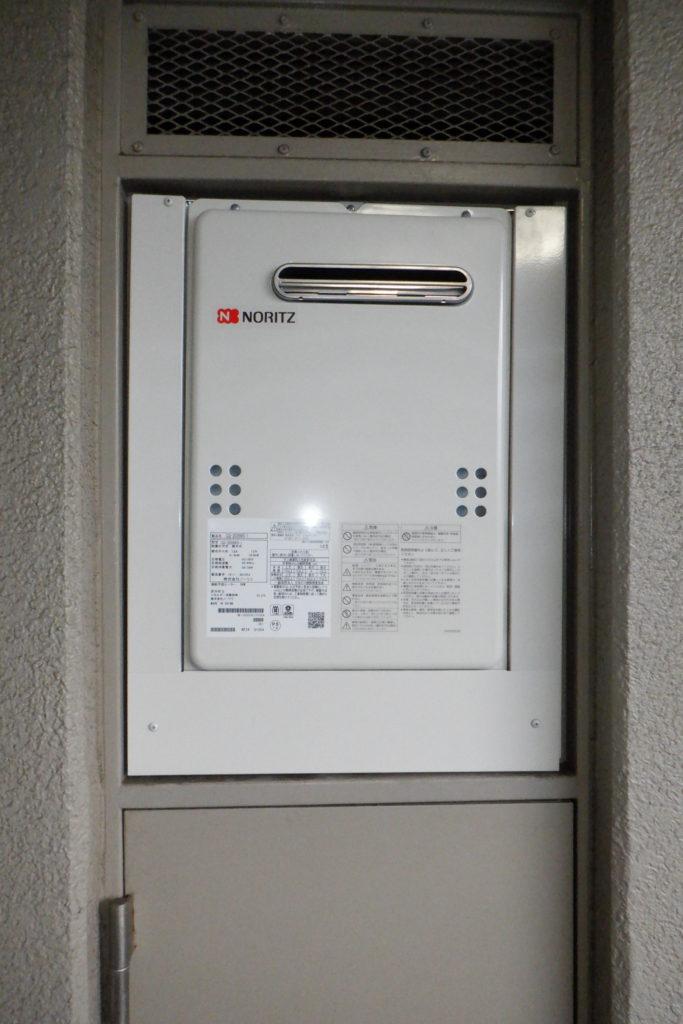ガス給湯器 ノーリツGQ-2039WS交換 / 宮城・仙台・山形の給湯器交換[シマツ]