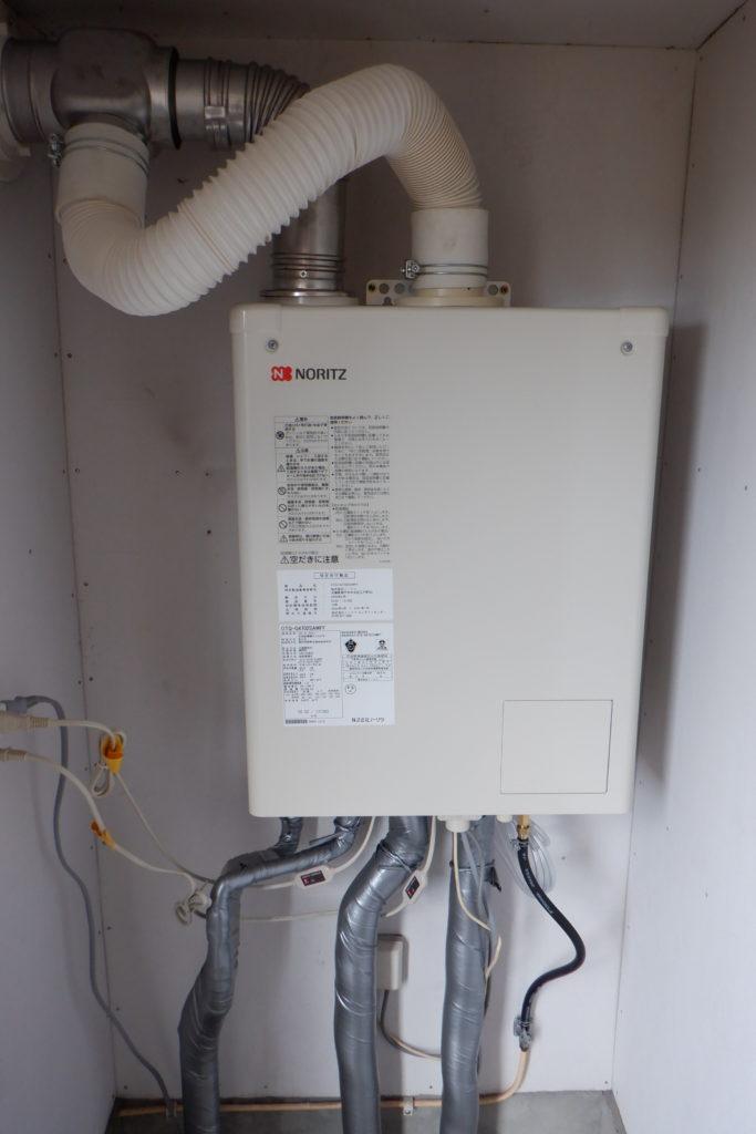 石油給湯器 ノーリツOTQ-G4702SAWFF交換 / 宮城・仙台・山形の給湯器交換[シマツ]